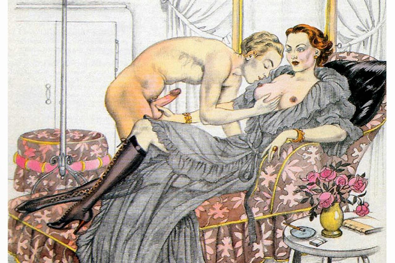 Maitresse dominatrice branle un homme